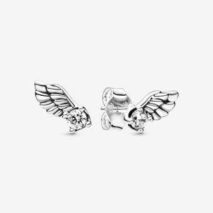 ✨Pandora Sparkling Angel Wing Stud Earrings